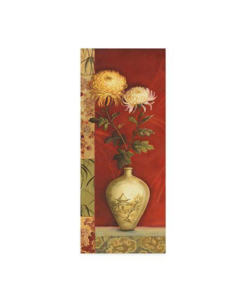 "Trademark Global Lisa Audit 'Asian Breeze 2' Canvas Art - 10"" x 24"""