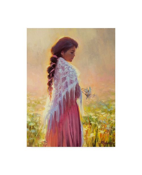 "Trademark Global Steve Henderson 'Queen Annes Lace' Canvas Art - 14"" x 19"""
