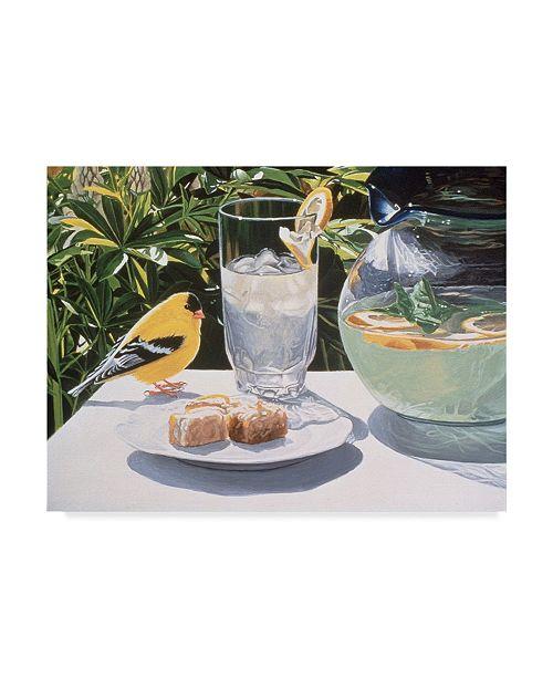 "Trademark Global Ron Parker 'Lemonade' Canvas Art - 14"" x 19"""