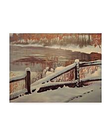 "Rusty Frentner 'Winter Magic' Canvas Art - 14"" x 19"""