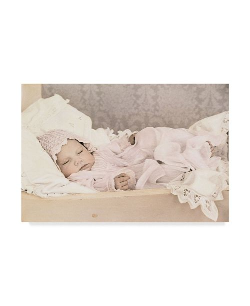 "Trademark Global Sharon Forbes 'Sleeping Beauty' Canvas Art - 12"" x 19"""
