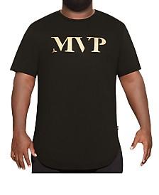 MVP Collections Men's Big & Tall MVP Curved Hem Tee