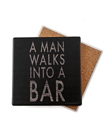 Thirstystone Man Walks Coasters