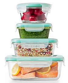 Smart Seal 12-Pc. Glass Food Storage Container Set