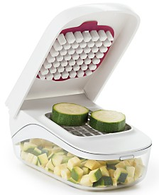 OXO Vegetable Chopper with Easy-Pour Opening