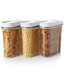 OXO Good Grips 3-Pc. Pop Cereal Dispenser Set