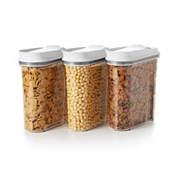 OXO Good Grips 3-Piece Pop Cereal Dispenser Set