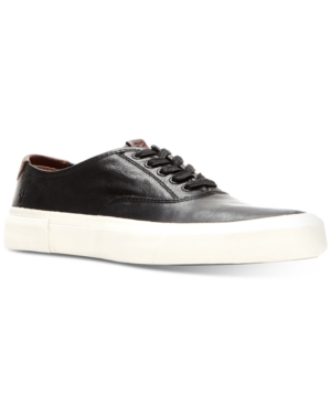 Frye Men's Ludlow Bal Oxford Sneakers Men's Shoes In Black/white