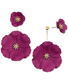 Zenzii Flower Power Drop Earrings
