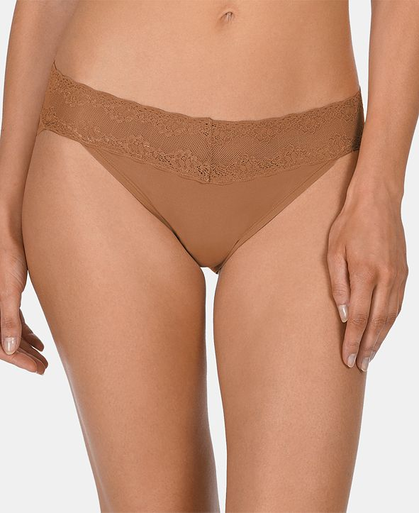 Natori Bliss Perfection Lace-Waist Bikini Underwear 756092