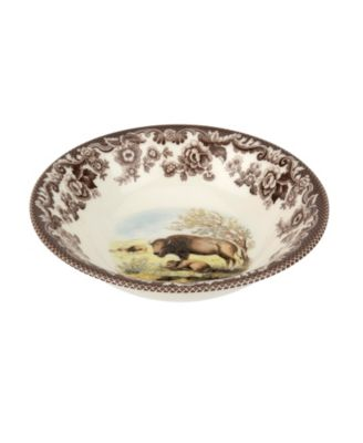 Woodland  Bison Ascot Cereal Bowl