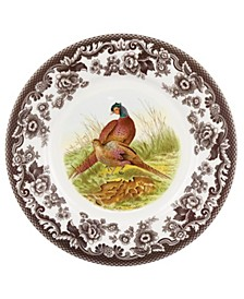 Woodland Pheasant Luncheon Plate