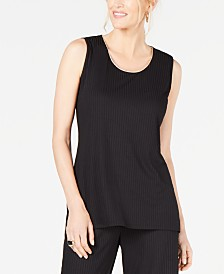 JM Collection Ribbed Tank Top, Created for Macy's