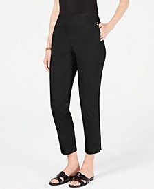 Petite Tummy-Control Ankle Pants, Created for Macy's