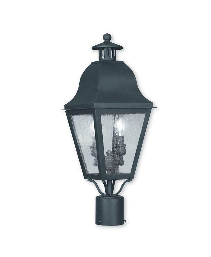 Livex - Amwell 2-Light Outdoor Post Lantern