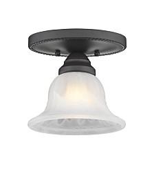 Livex Edgemont 1-Light Ceiling Mount