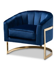 Tomasso Lounge Chair, Quick Ship