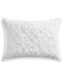 "Hotel Collection Classic Jardin Quilted 20"" x 28"" Standard Sham, Created for Macy's"