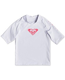 Roxy Toddler Girls Whole Hearted Rash Guard