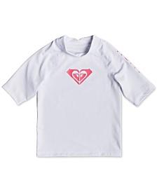 Roxy Toddler Girls Whole Hearted Rash Guard