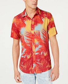 GUESS Men's Rogan Island Breeze Shirt