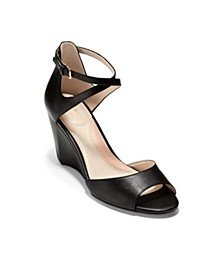 Sadie Grand Open Toe Wedge Sandals