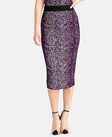 RACHEL Rachel Roy Tia Pencil Sweater Skirt