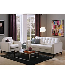 Sivri Leather Sofa Collection
