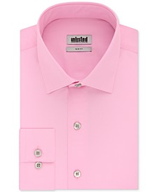 Unlisted Men's Slim-Fit Solid Dress Shirt
