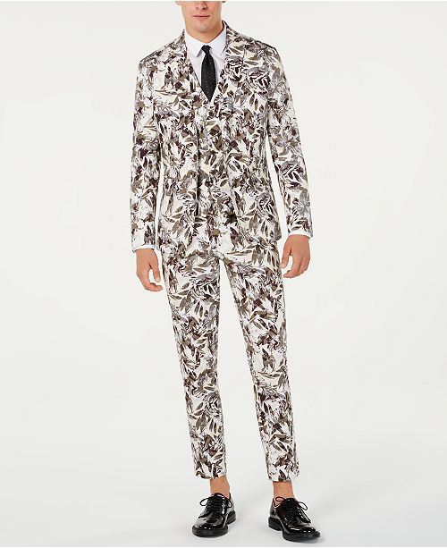 INC International Concepts I.N.C. Men's Botanical Suit Seperates, Created for Macy's