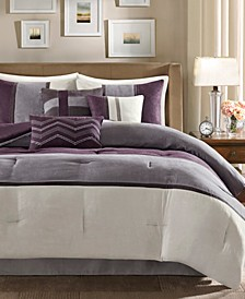 Palisades 7-Pc. Queen Comforter Set