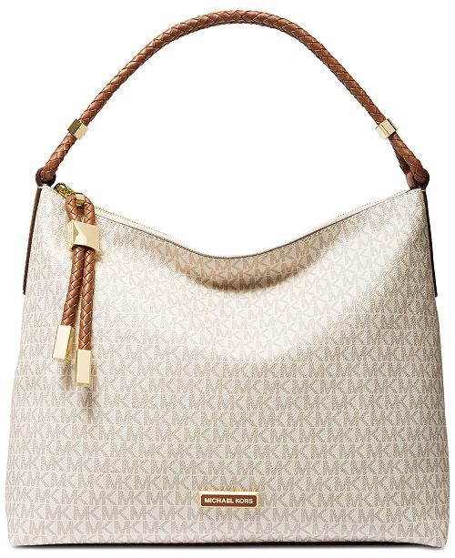 Michael Kors Lexington Signature Shoulder Bag