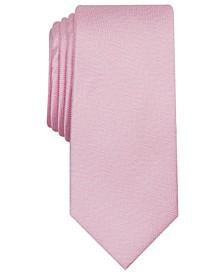 Men's River Skinny Herringbone Tie, Created for Macy's