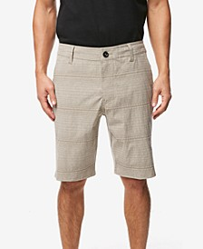"Men's Locked Stripe 20"" Hybrid Short"