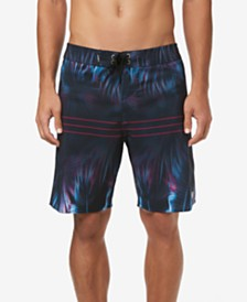 "O'Neill Men's Superfreak Printed Hallucination 19"" Swim Trunks"