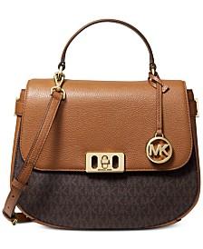 MICHAEL Michael Kors Karson Signature Saddle Bag