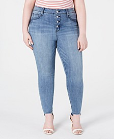 Trendy Plus Size Ultra High-Rise Skinny Jeans