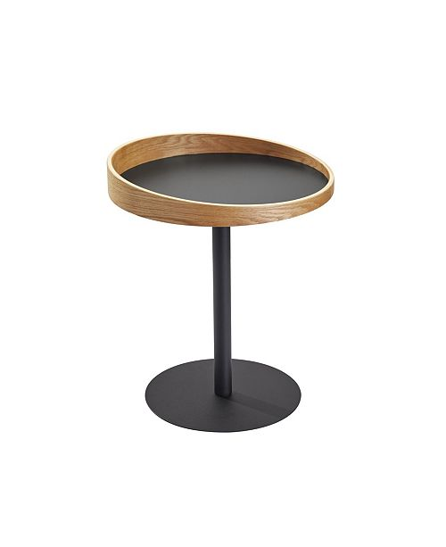 Adesso Crater End Table, Quick Ship