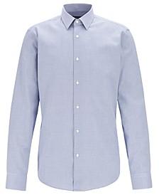 BOSS Men's Eliott Regular-Fit Cotton Shirt