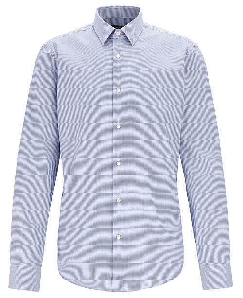 Hugo Boss BOSS Men's Eliott Regular-Fit Cotton Shirt