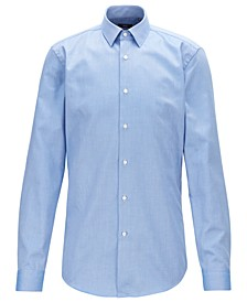 BOSS Men's Isko Travel Line Slim-Fit Cotton Shirt