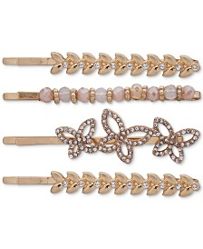 lonna & lilly Gold-Tone 4-Pc. Set Bobby Pins
