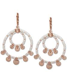 lonna & lilly Gold-Tone Shaky Orbital Large Hoop Earrings