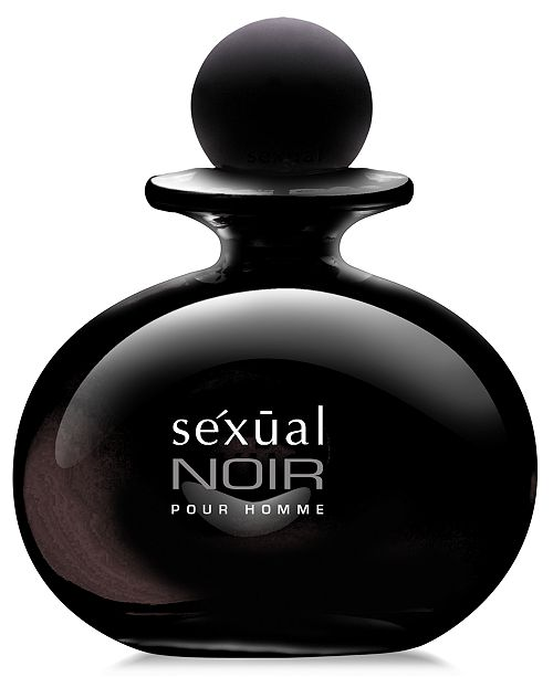 Michel Germain Men's Sexual Noir Pour Homme Eau de Toilette Spray, 4.2 oz - A Macy's Exclusive