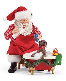 Possible Dreams Santa Splish Splash Figurine