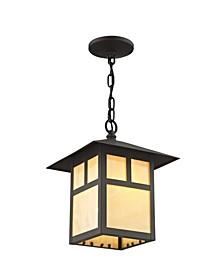 Montclair Mission 1-Light Outdoor Chain Lantern