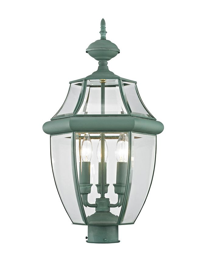 Livex - Monterey 3-Light Outdoor Post Lantern