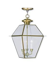 Westover 3-Light Outdoor Chain Lantern