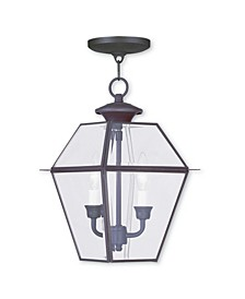 Westover 2-Light Outdoor Chain Lantern