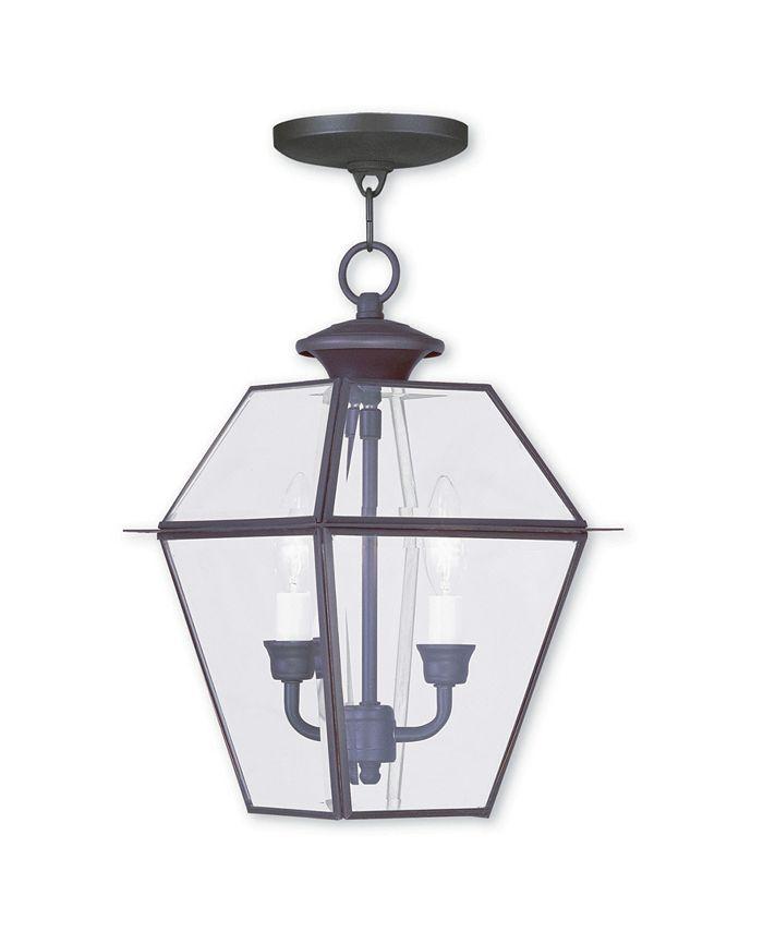 Livex - Westover 2-Light Outdoor Chain Lantern